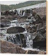 Rock Water Wood Print