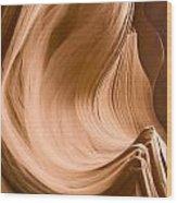 Rock Waves Wood Print