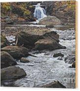 Rockaway River Wood Print