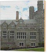 Rockefeller Hall Bryn Mawr Wood Print