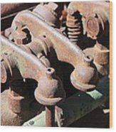 Rocker Arms Wood Print