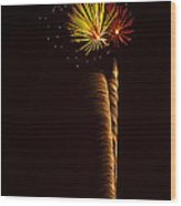 Rockets Skyward  Wood Print by Saija  Lehtonen
