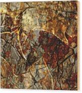 Rockface Wood Print
