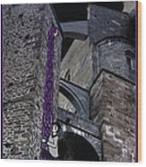 Rockin' Raven Celtic Rapunzel Wood Print
