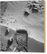 Rocknest Site, Mars, Curiosity Image Wood Print by Science Photo Library