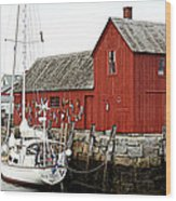 Rockport - Motif Number 1 Wood Print
