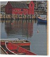 Rockport No. 1 Wood Print