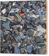 Rocks And Stones Wood Print