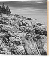 Rocks Of Acaida Wood Print