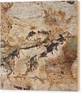 Rockscape 3 Wood Print