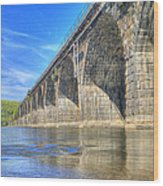 Rockville Bridge Wood Print