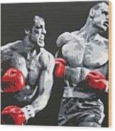Rocky 4 Wood Print
