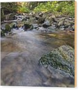 Rocky Creek Wood Print