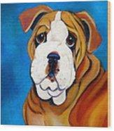 Rocky Wood Print by Debi Starr