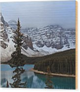 Rocky Mountain Escape Wood Print
