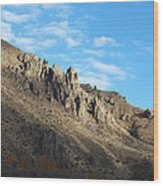 Rocky Mountain Wood Print by Kimberly Maiden