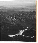 Rocky Mountain Morning Wood Print