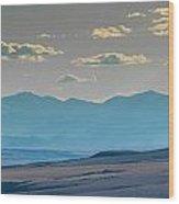 Rocky Mountain Road Wood Print