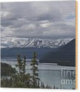 Rocky Mountain Spring Wood Print