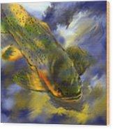 Rocky Mountain Trout  Wood Print