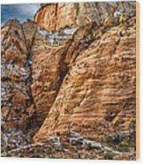Rocky Peak Wood Print