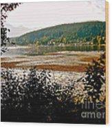 Rocky Point Port Moody Wood Print