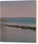 Rocky Point Wood Print by Pro Shutterblade