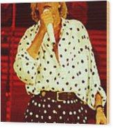 Rod Stewart E16 - 1991 Wood Print