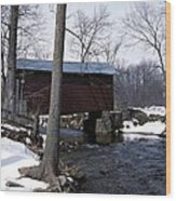 Roddy Bridge Wood Print