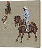 Rodeo 37 Wood Print