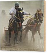 Rodeo Eat My Dust 1 Wood Print