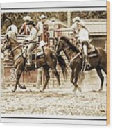 Rodeo Grandentry Wood Print