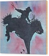 Rodeo No 1 Wood Print