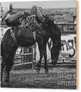 Rodeo Power Of Conviction Wood Print