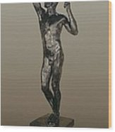 Rodin, Auguste 1840-1917. The Age Wood Print