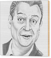 Rodney Dangerfield Wood Print