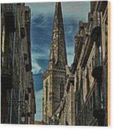 Cathedrale Saint-vincent-de-saragosse De Saint-malo Wood Print