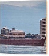 Roger Blough With Sarnia Skyline Wood Print