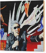 Roger Waters-the Wall Wood Print