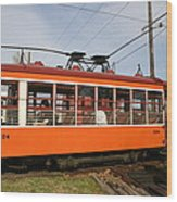 Rogers Trolley2 Wood Print
