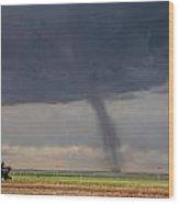 Roggen Tornado 4 Wood Print