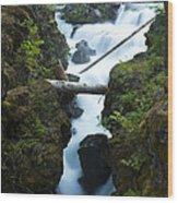 Rogue River Falls 1 Wood Print