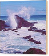 Rogue Wave Wood Print