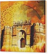 Rohtas Fort 00 Wood Print