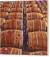 Roll Out The Barrel Wood Print