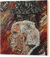 Roll Tide With Bear Bryant And Mal Moore  Wood Print by Mark Moore