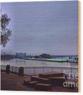 Rollin Onna River Wood Print