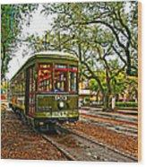 Rollin' Thru New Orleans Painted Wood Print