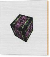 Rolling Cube Wood Print