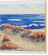 Rolling Dunes 330 O'clock Wood Print
